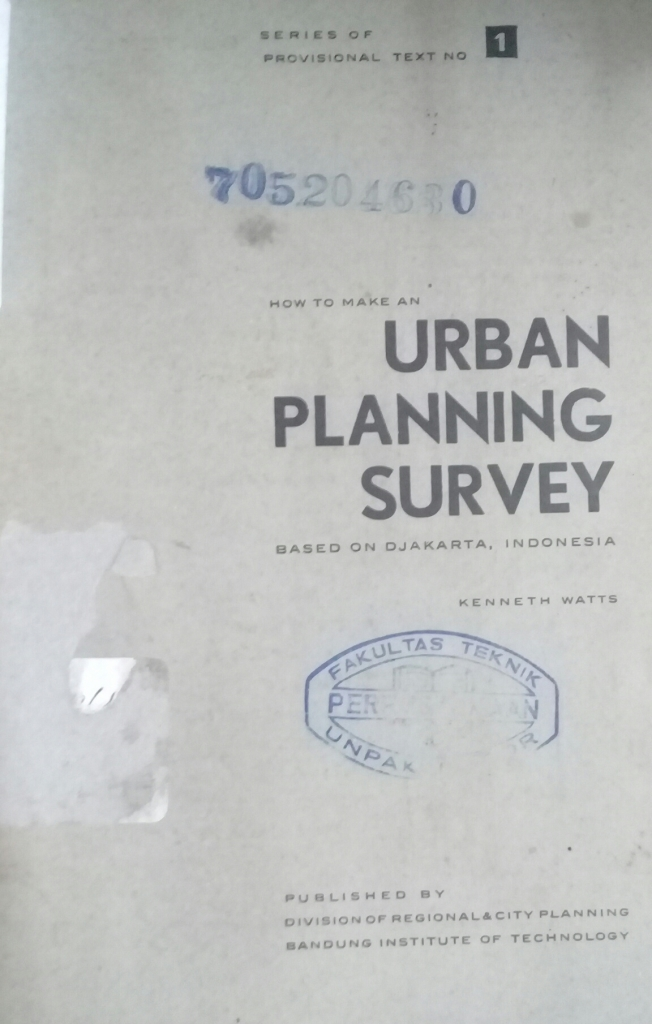 How To Make an Urban Planning Survey