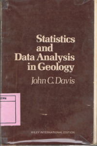 Image of Statistics And Data Analysis In Geology